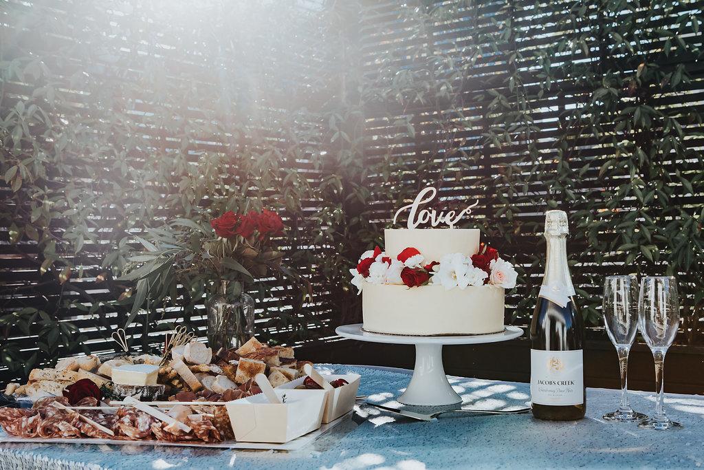 Luxe Wedding Cake