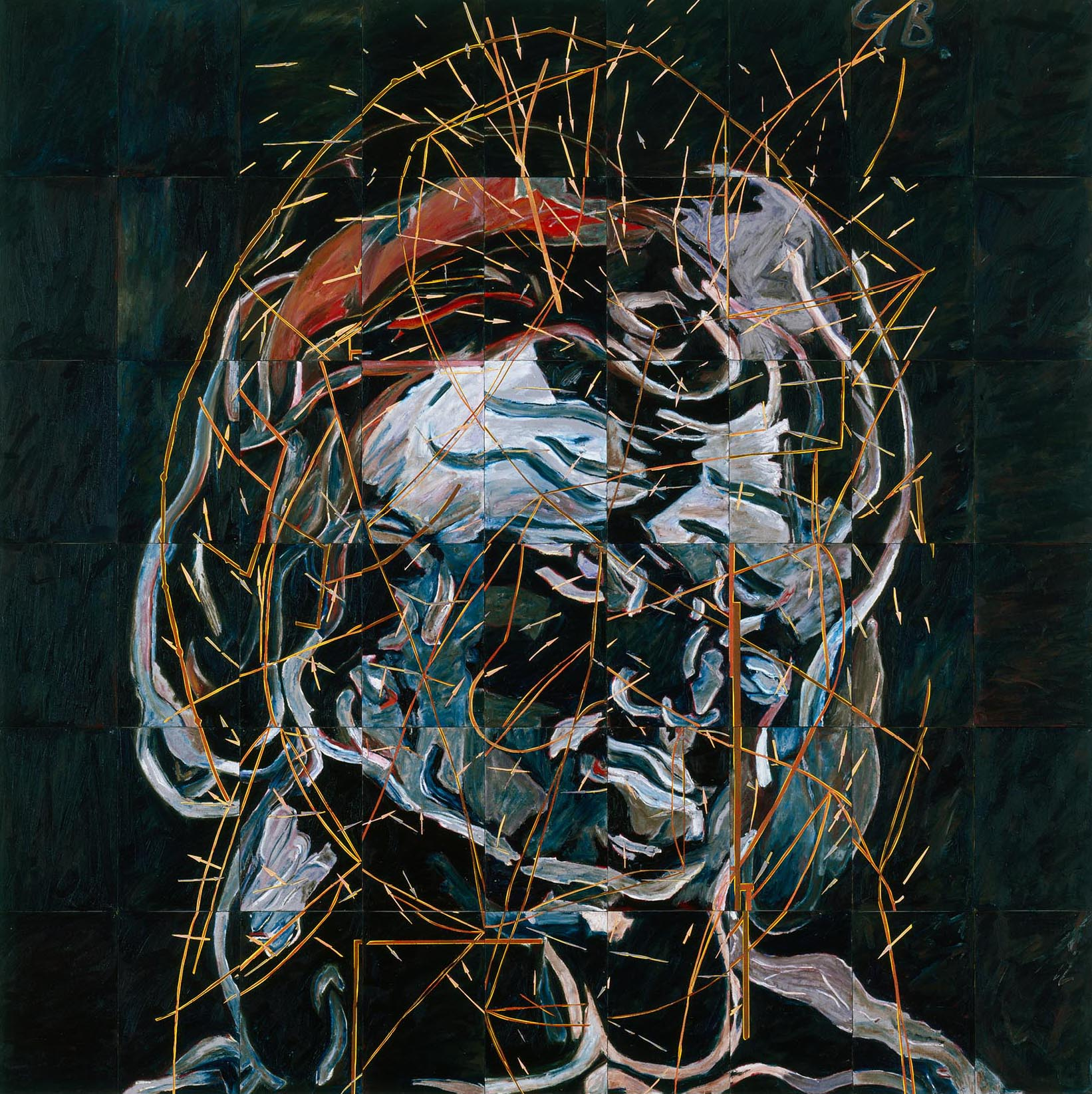 Portrait of a Thought which Bypasses Everything, 1989