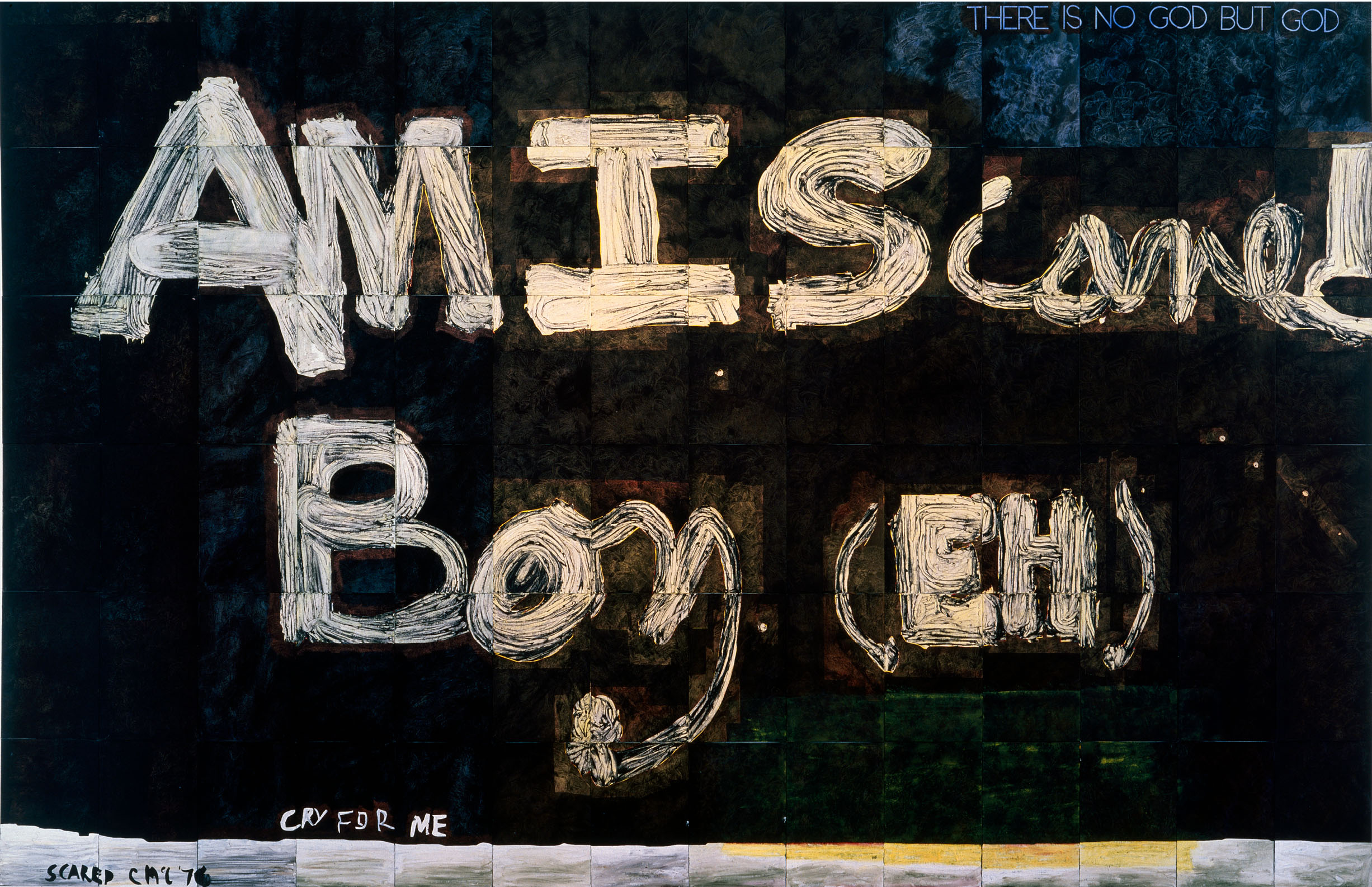 Untitled (Scared), 1989