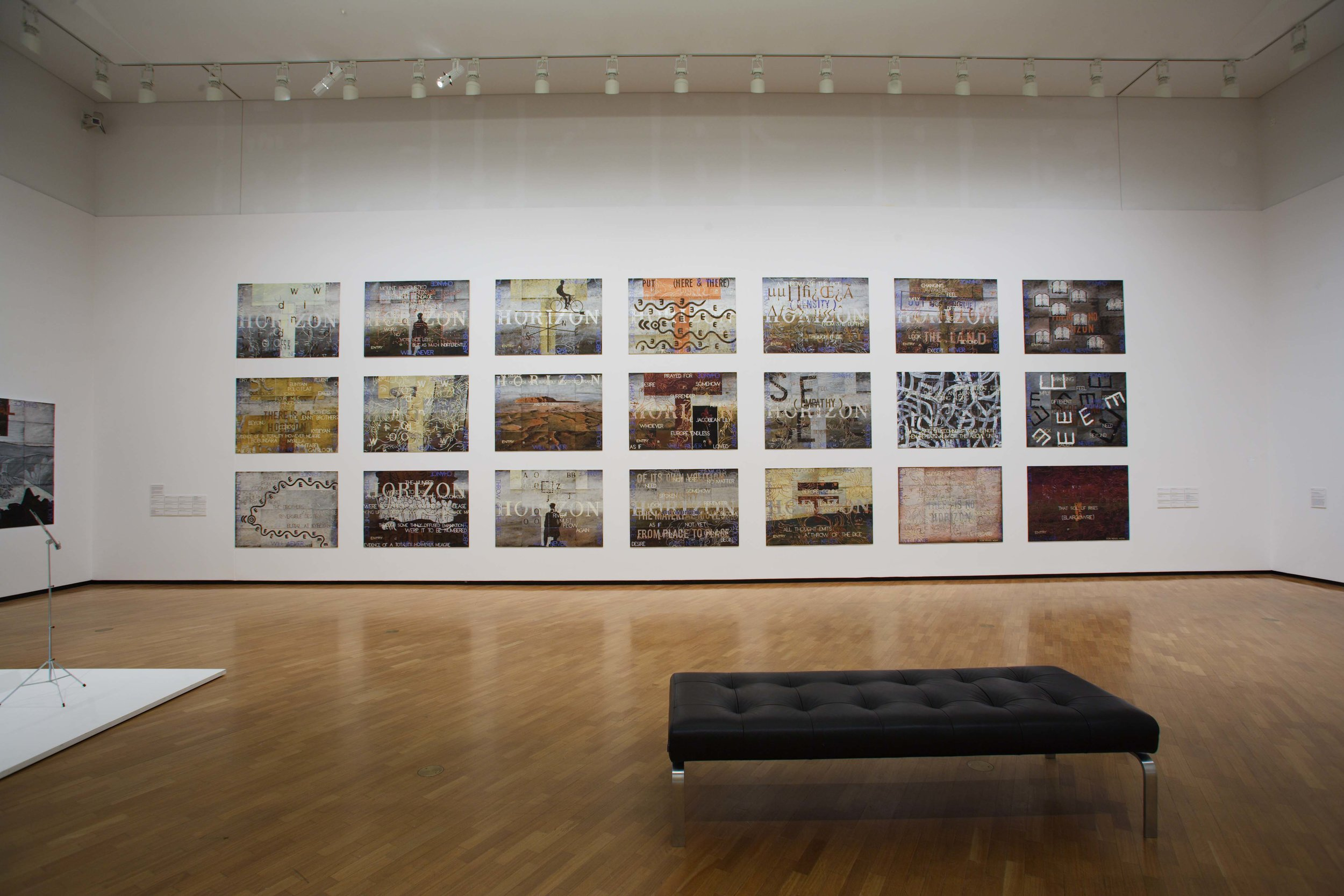 'One World, Many Visions', Installation View