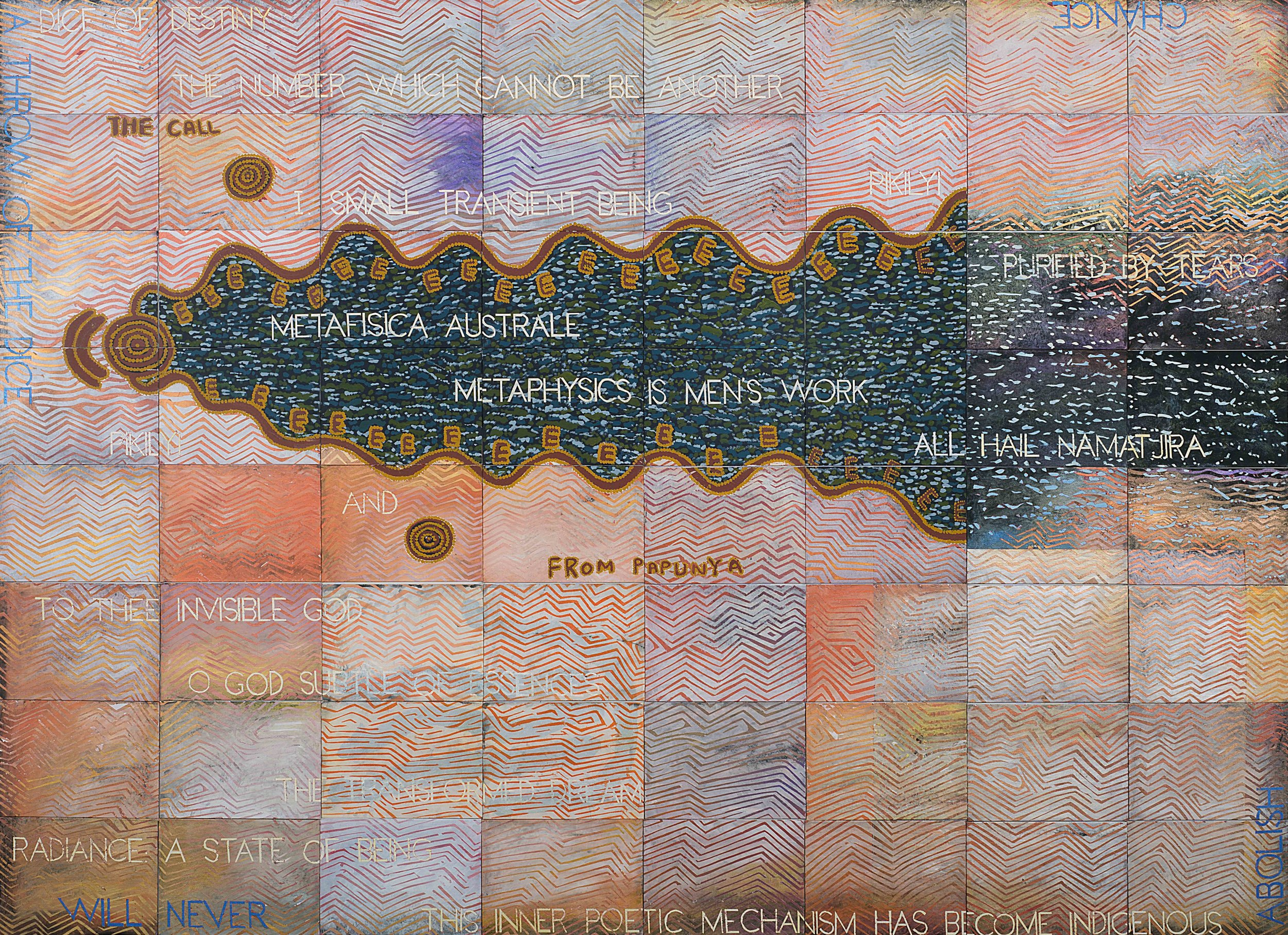 The Call From Papunya, 2018