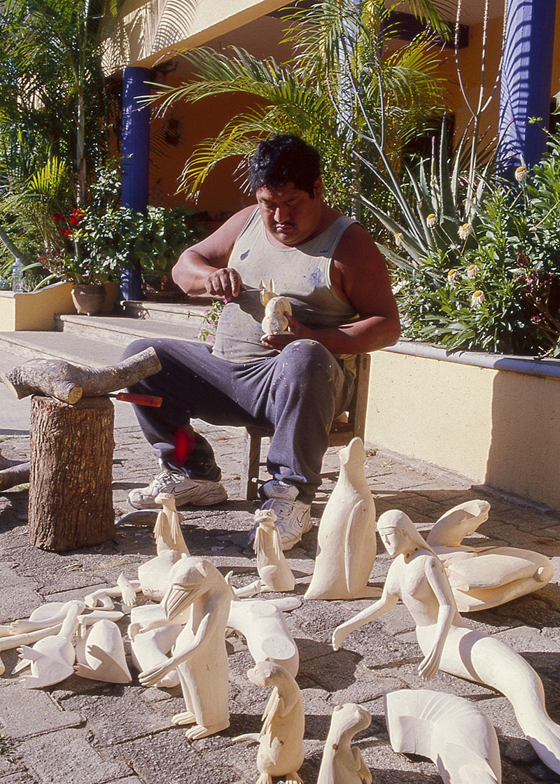 Friends of Oaxacan Folk Art — Woodcarving #35.jpg