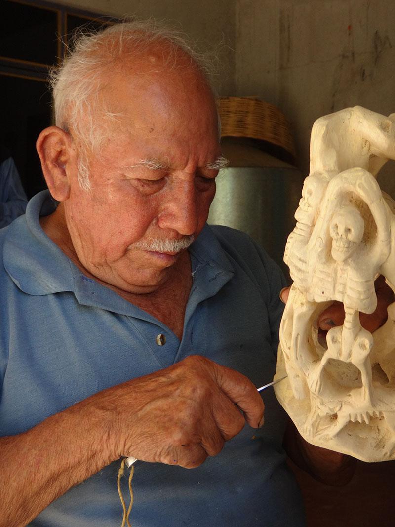 Friends of Oaxacan Folk Art — Woodcarving #65.JPG