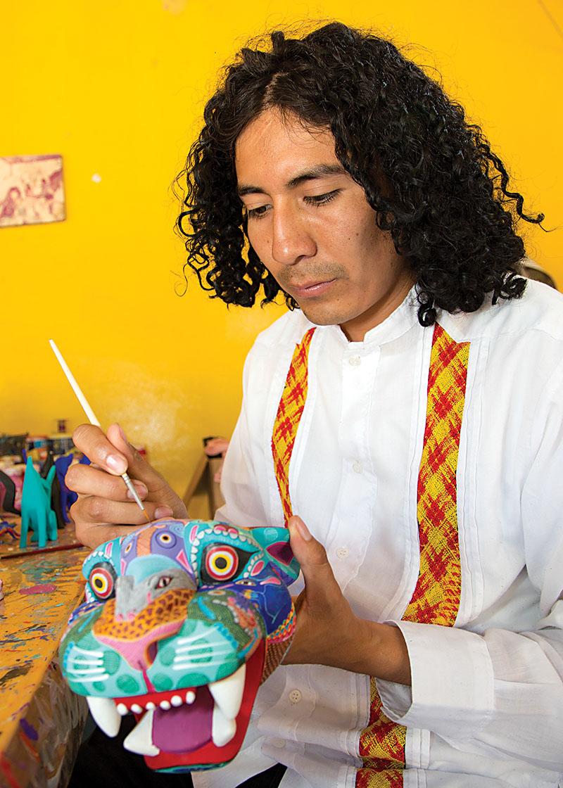 Friends of Oaxacan Folk Art — Woodcarving #67.jpg