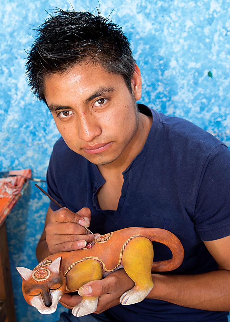 Friends of Oaxacan Folk Art — Woodcarving #71.jpg