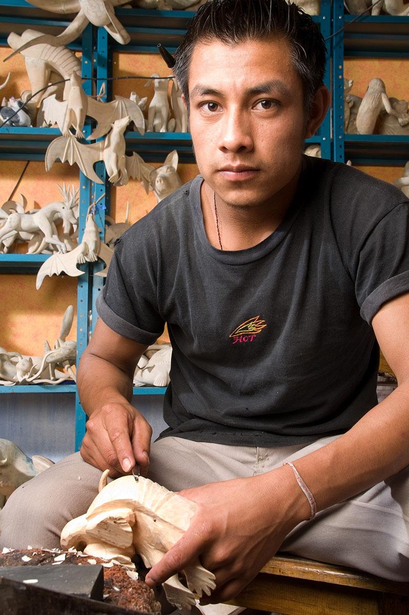 Friends of Oaxacan Folk Art — Woodcarving #73.jpg