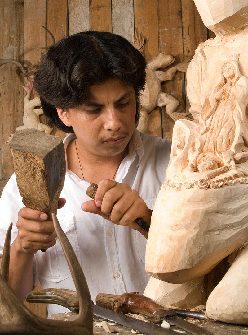 Friends of Oaxacan Folk Art — Woodcarving #94.jpg