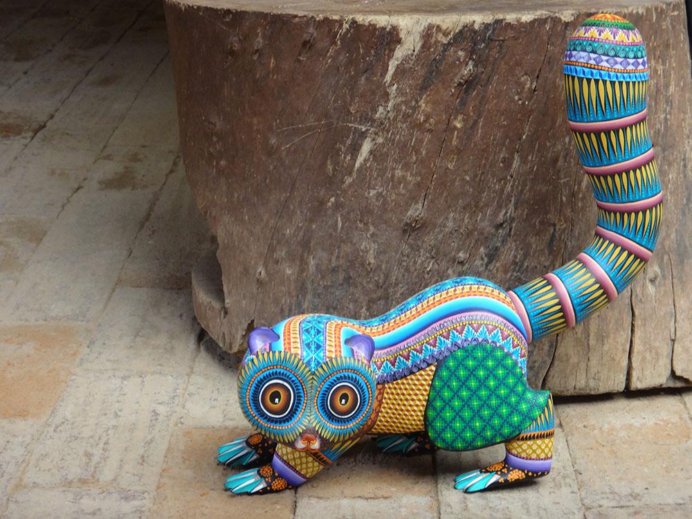 Friends of Oaxacan Folk Art — Woodcarving #99.JPG