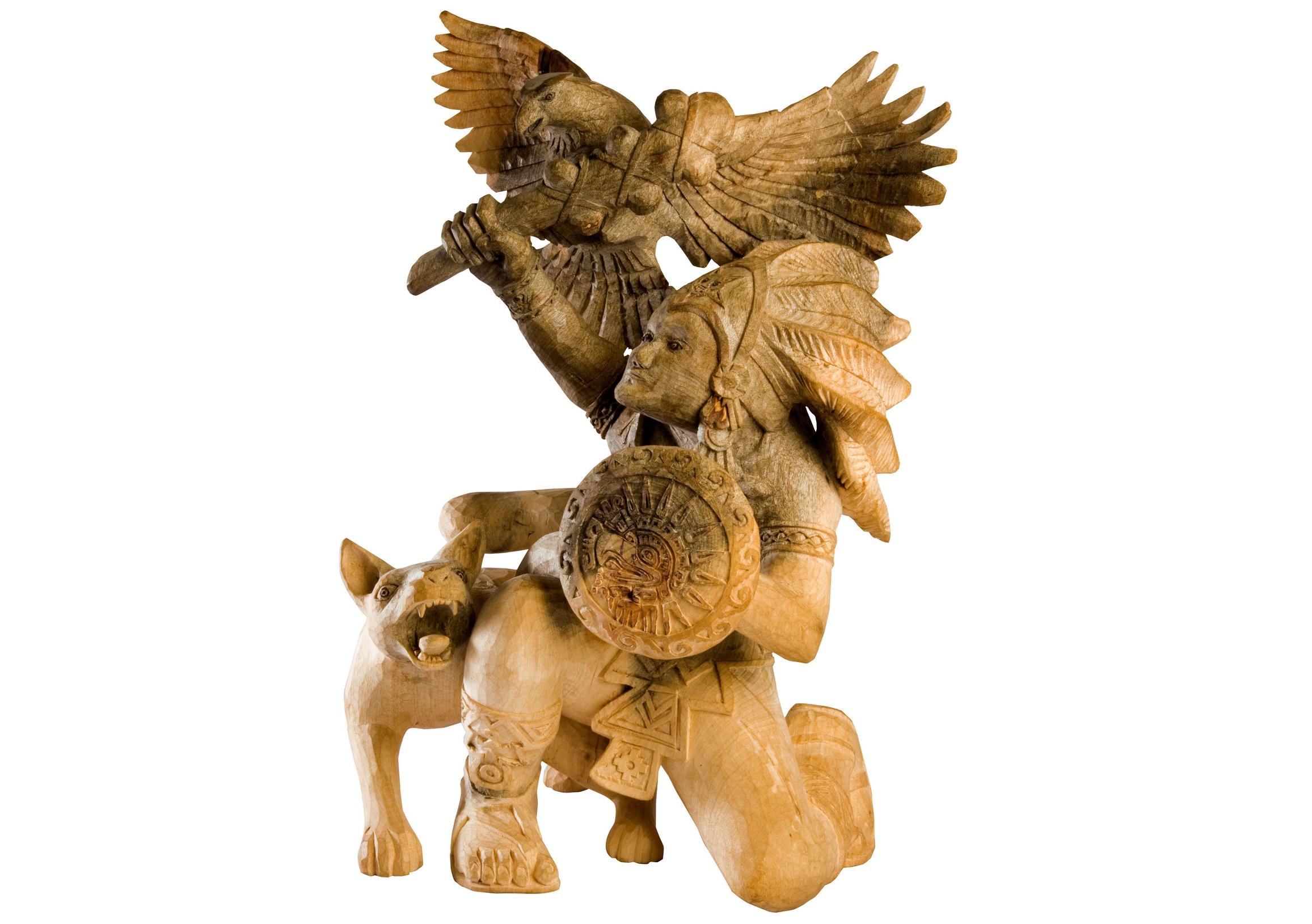 Friends of Oaxacan Folk Art — woodcarving #74.jpg