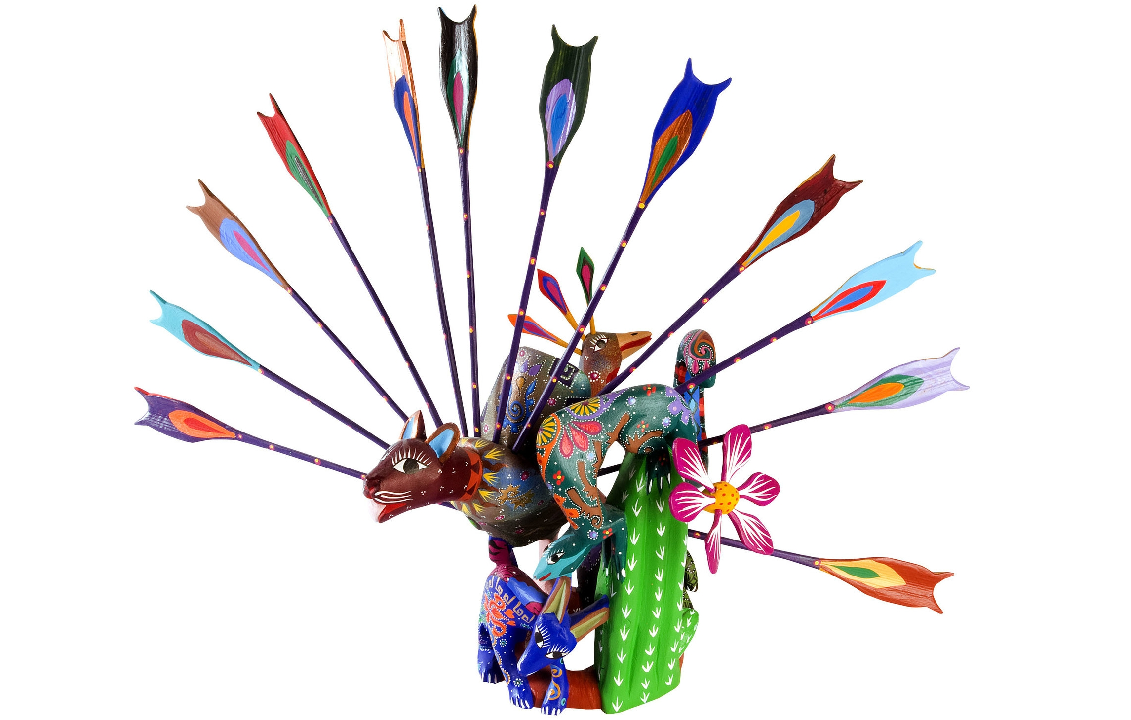 Friends of Oaxacan Folk Art — Woodcarving #84.jpg