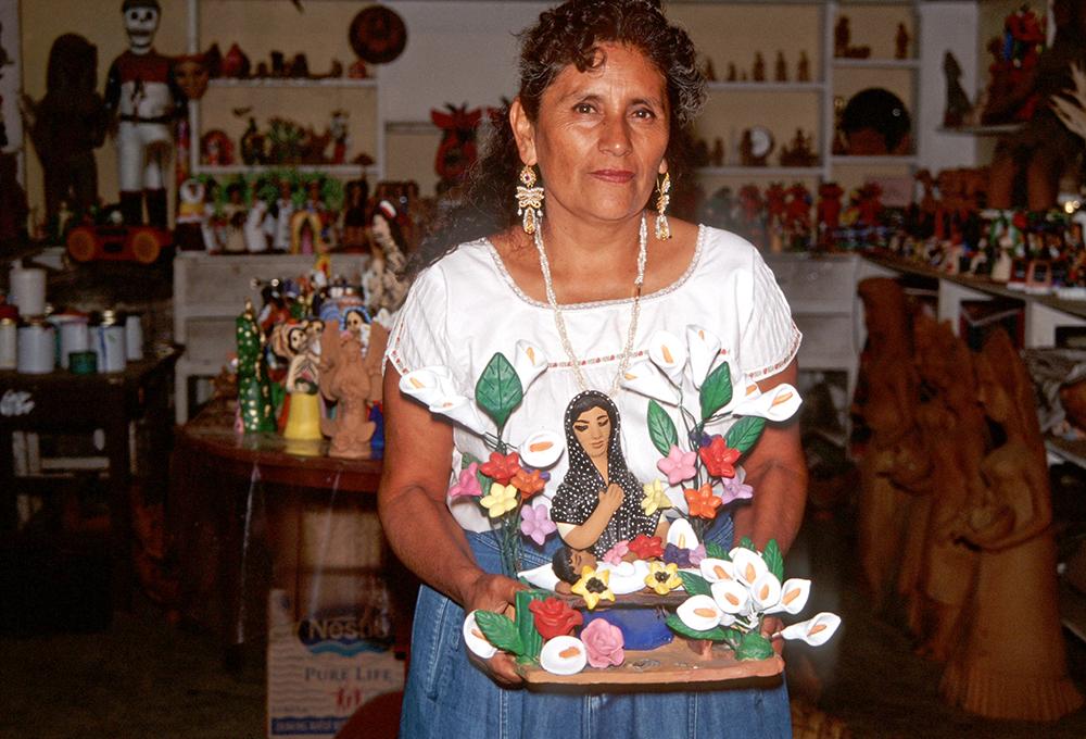 Friends of Oaxacan Folk Art — Painted red #6.jpeg