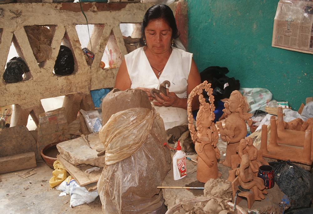 Friends of Oaxacan Folk Art — Painted red #8.jpeg