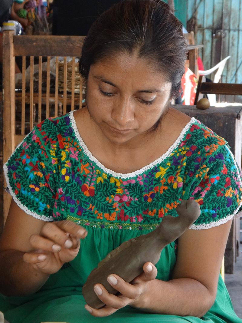 Friends of Oaxacan Folk Art — Painted red #16.JPG