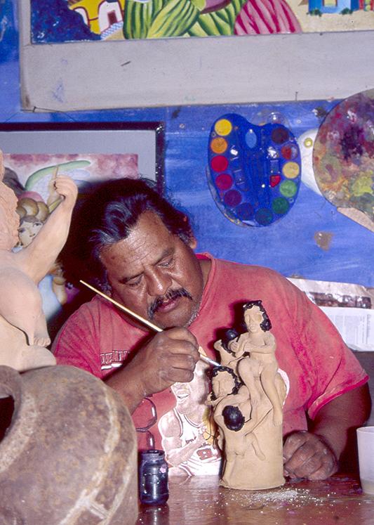 Friends of Oaxacan Folk Art — Painted red #30.jpeg