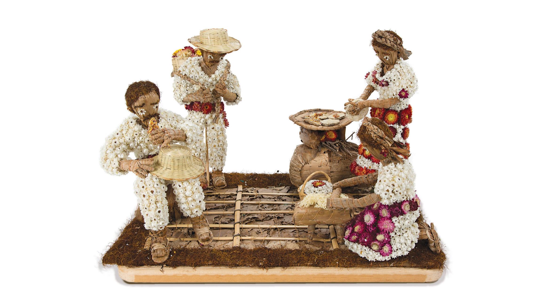 Friends of Oaxacan Folk Arts — Dried flower crafts #4.jpg