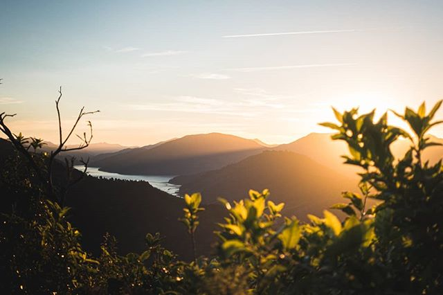 Golden hour 🌄 #photooftheday #sunset #newzealand