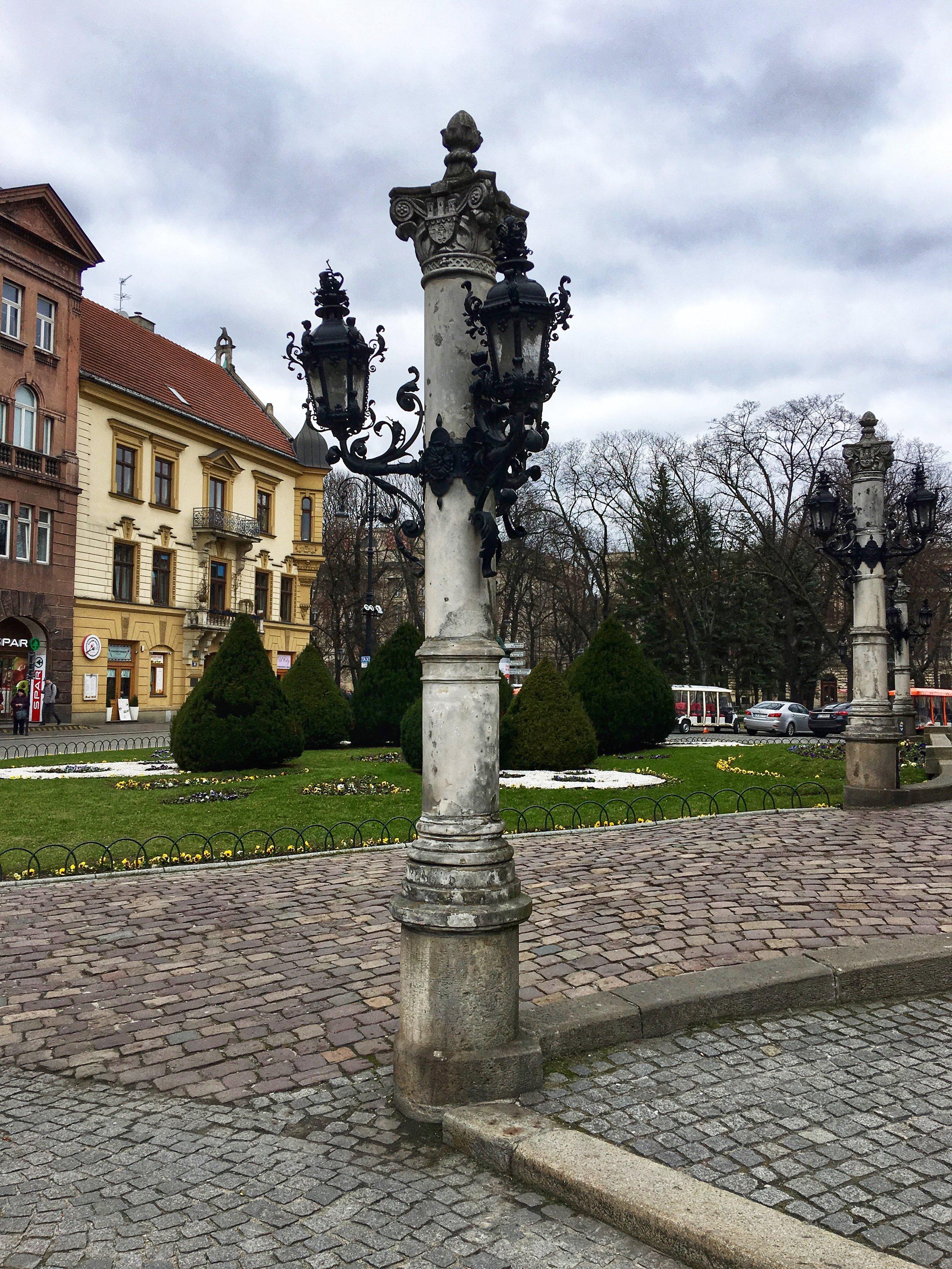 Square in Stare Miasto