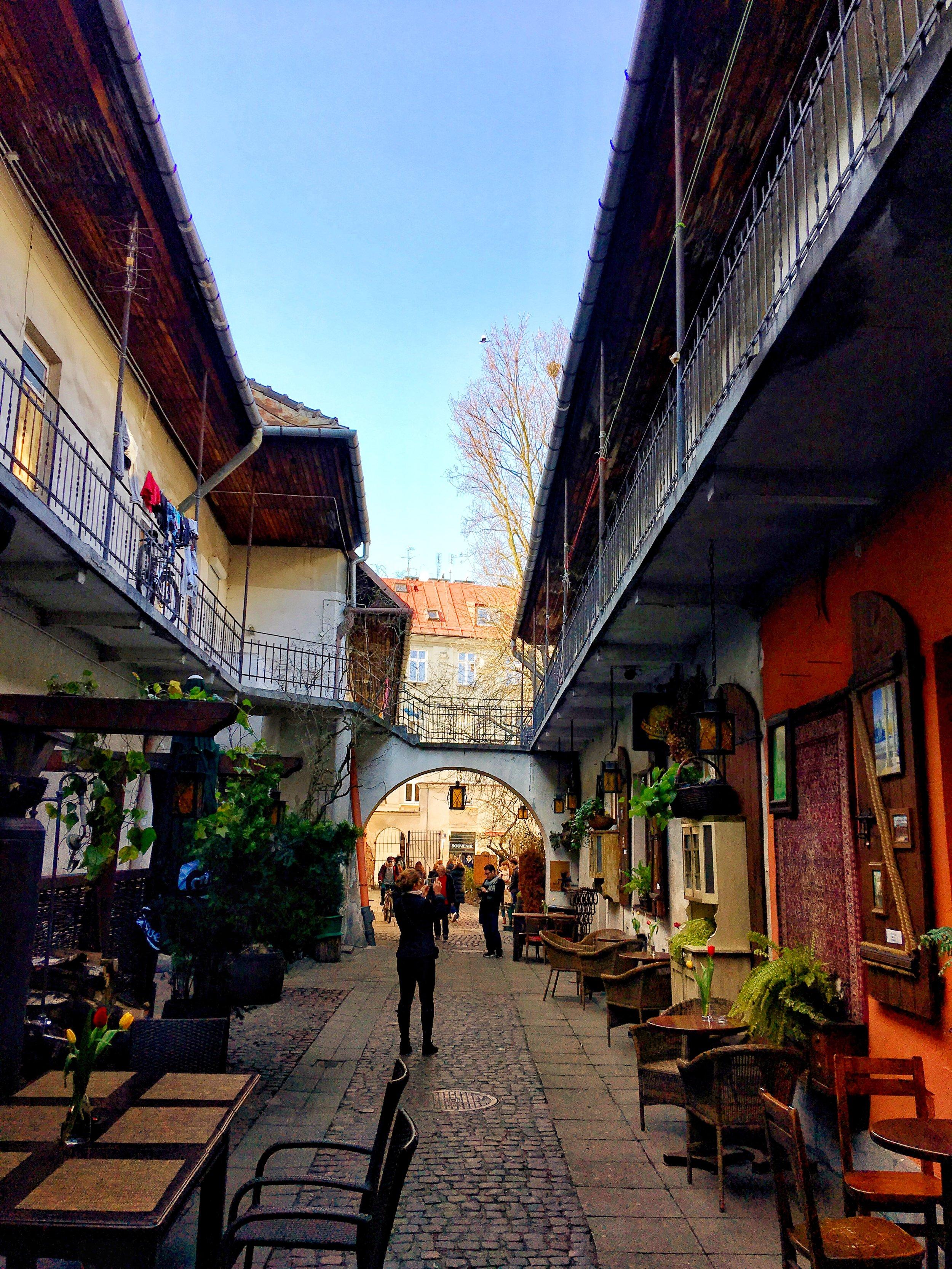 Kazimierz Alleyway