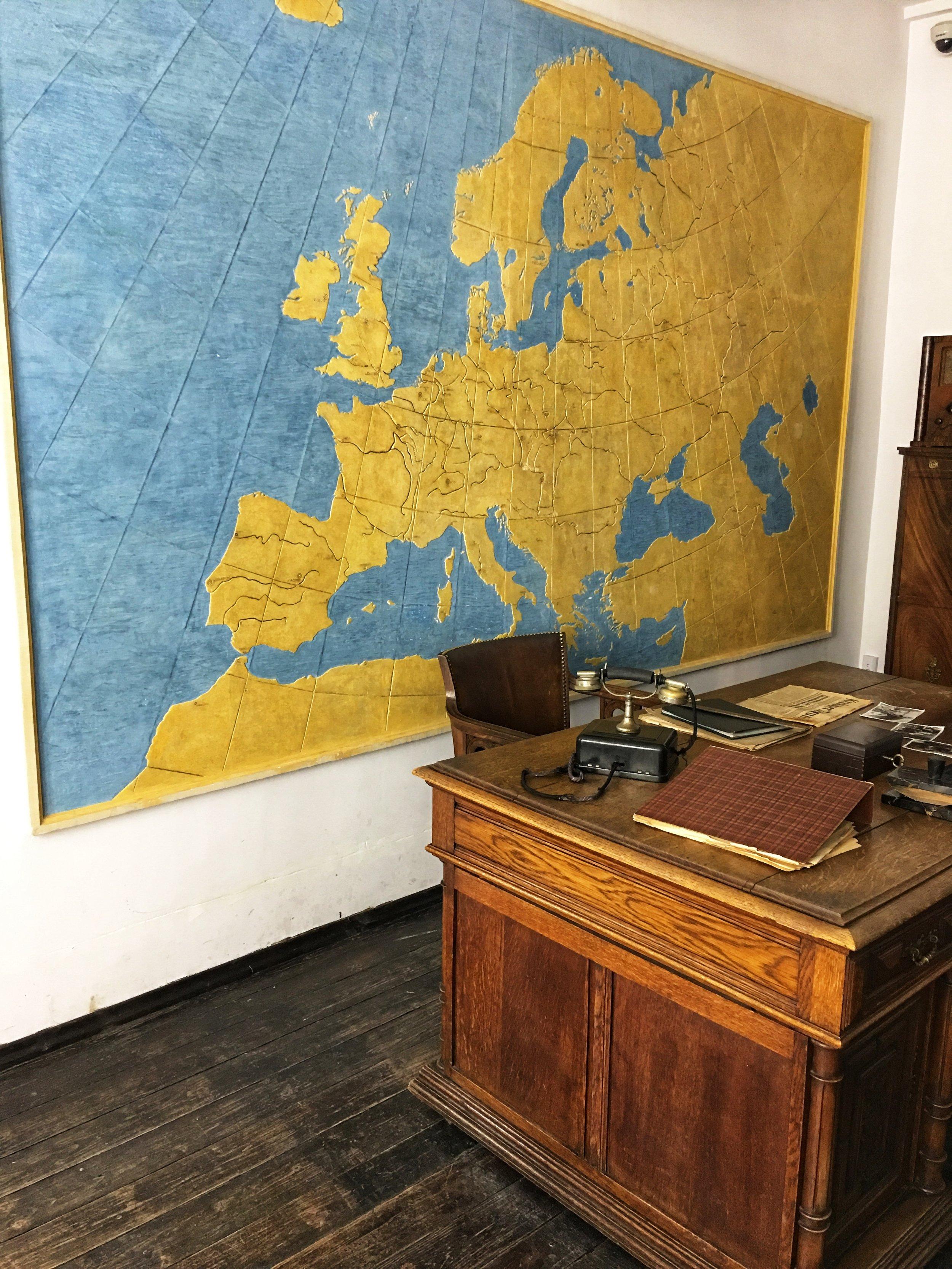 Oskar Schindler's Desk