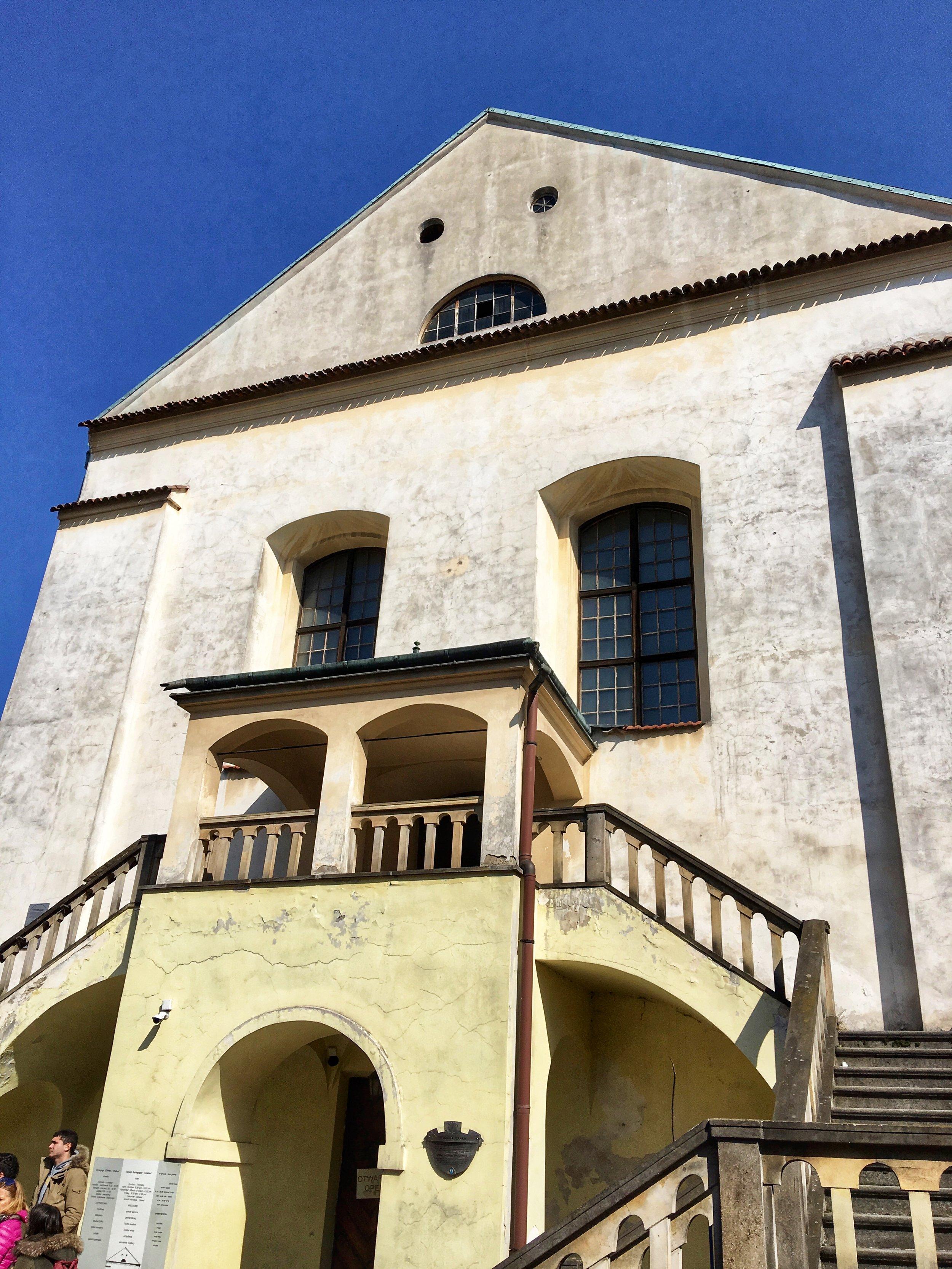 Isaak's Synagogue Entrance