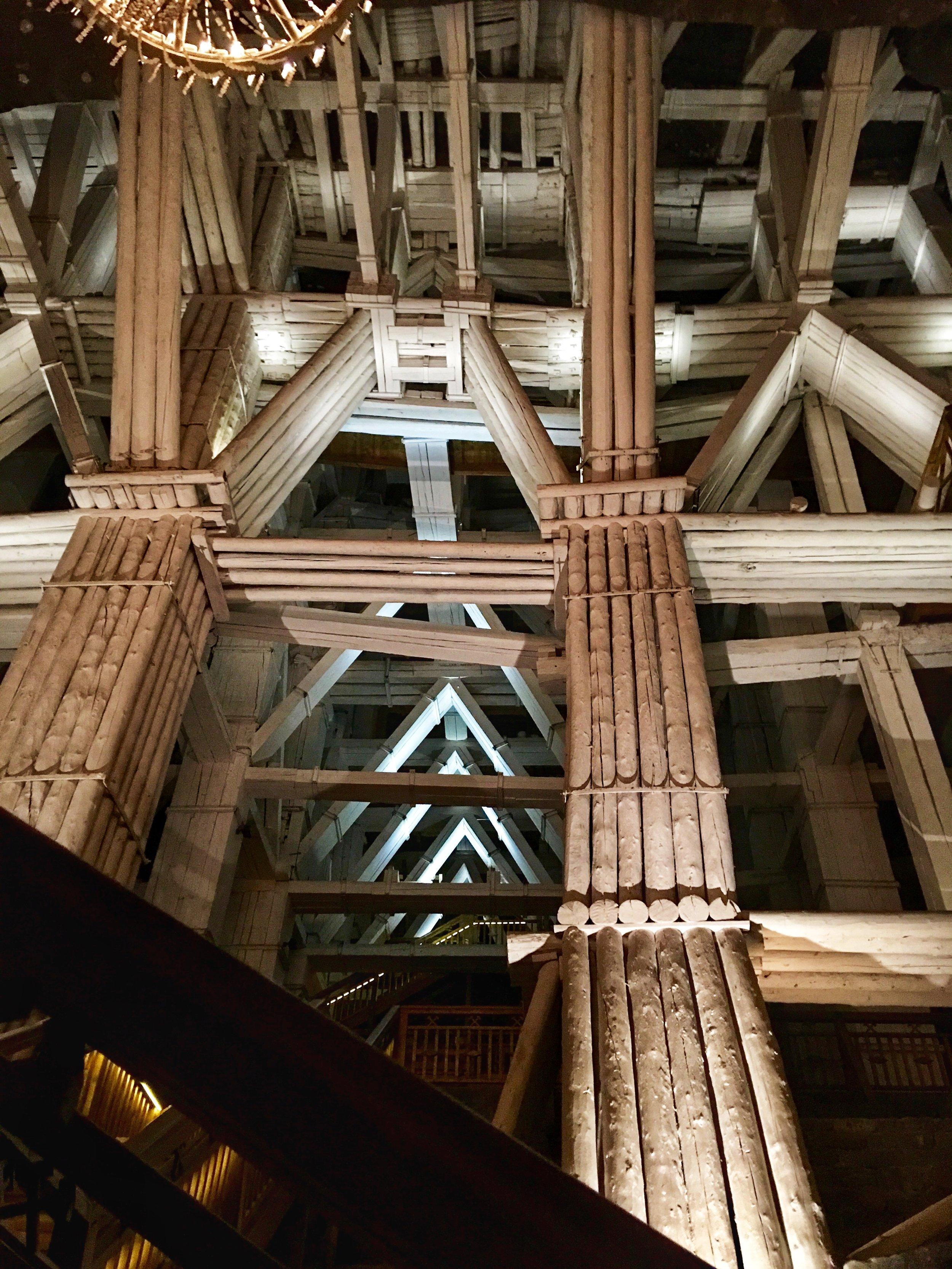 Salt Mine Timbers