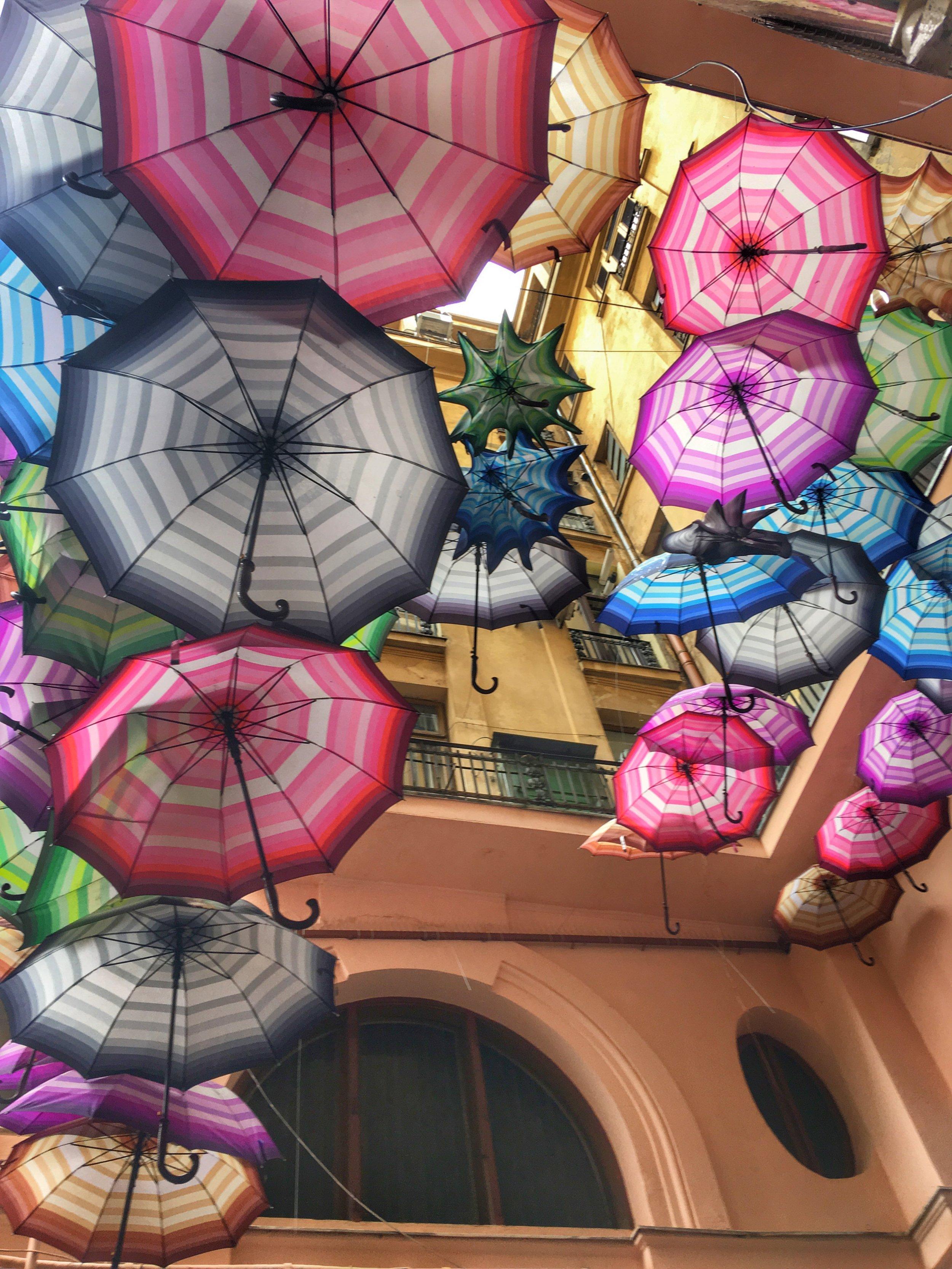 Bucharest Umbrellas