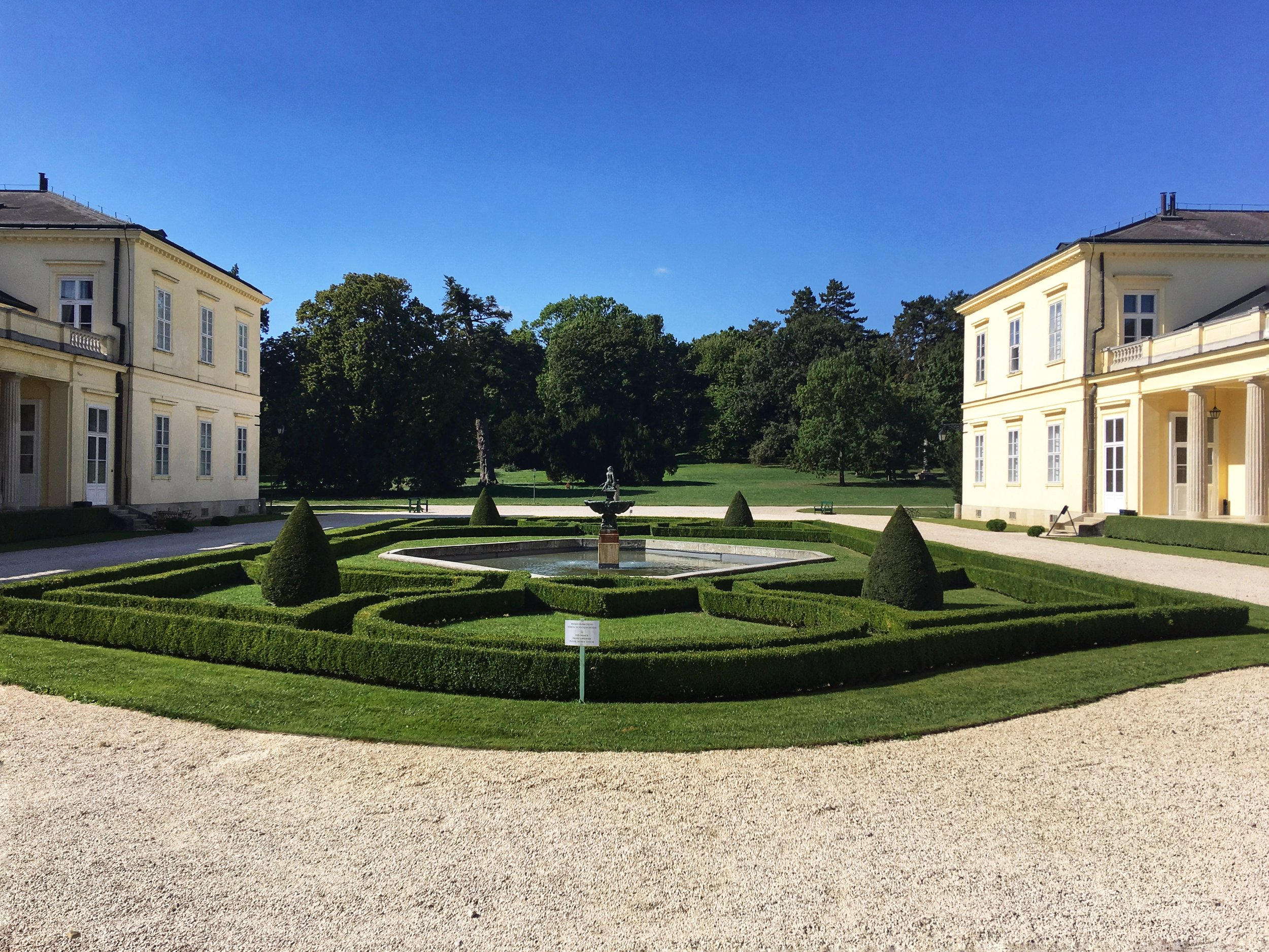 Károlyi Castle Entrance