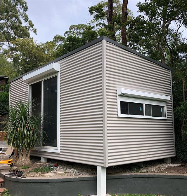 Our client was required to install Fire Rated Roller Shutters for their studio in North Rocks as the property is in a bushfire prone area.  Our team came through with the goods, installing BAL40 Extruded Roller Shutters to keep everyone safe!  #rollershutter #rollershutters #bal40 #bushfireshutters #sydney #building #construction