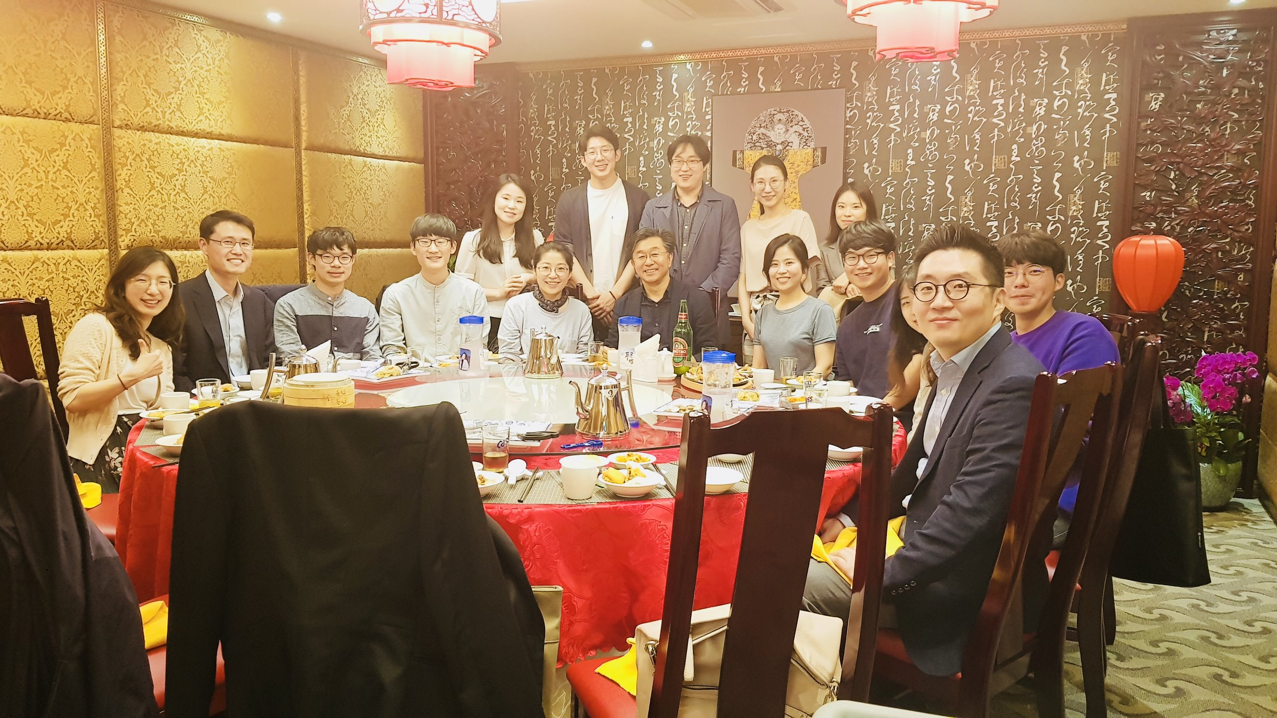 Dinner with BRL team @ 연희동 연경, May 2018