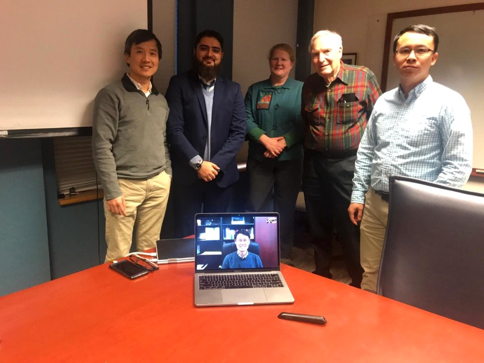Congratulations to Raza for his successful Ph.D. defense!