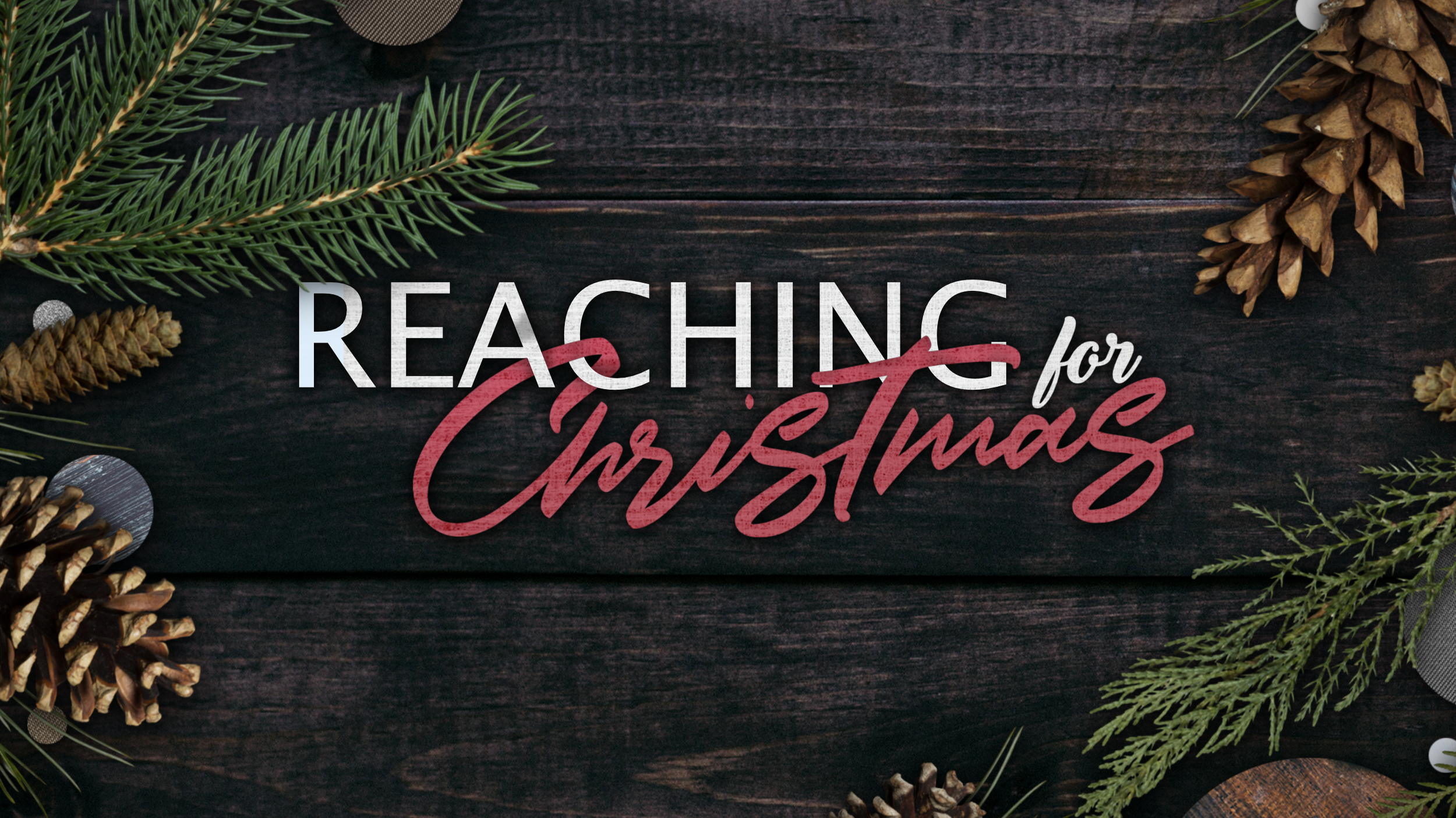 Reaching for Christmas -