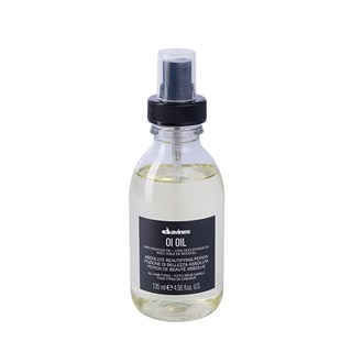 - Davines - OI OilFor anti-frizz and extra shine, particularly for dry or coarse hair. OI Oil adds shine and softness to hair while also detangling and fighting frizz.Benefits:Hair is shiny, hydrated, protected from styling and environmental factors and frizz-free.SKU:76000