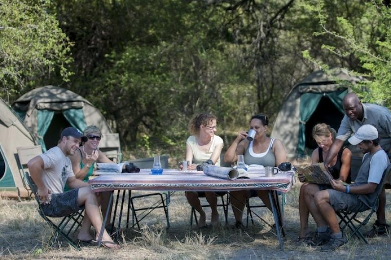Botwana Bush Camping -