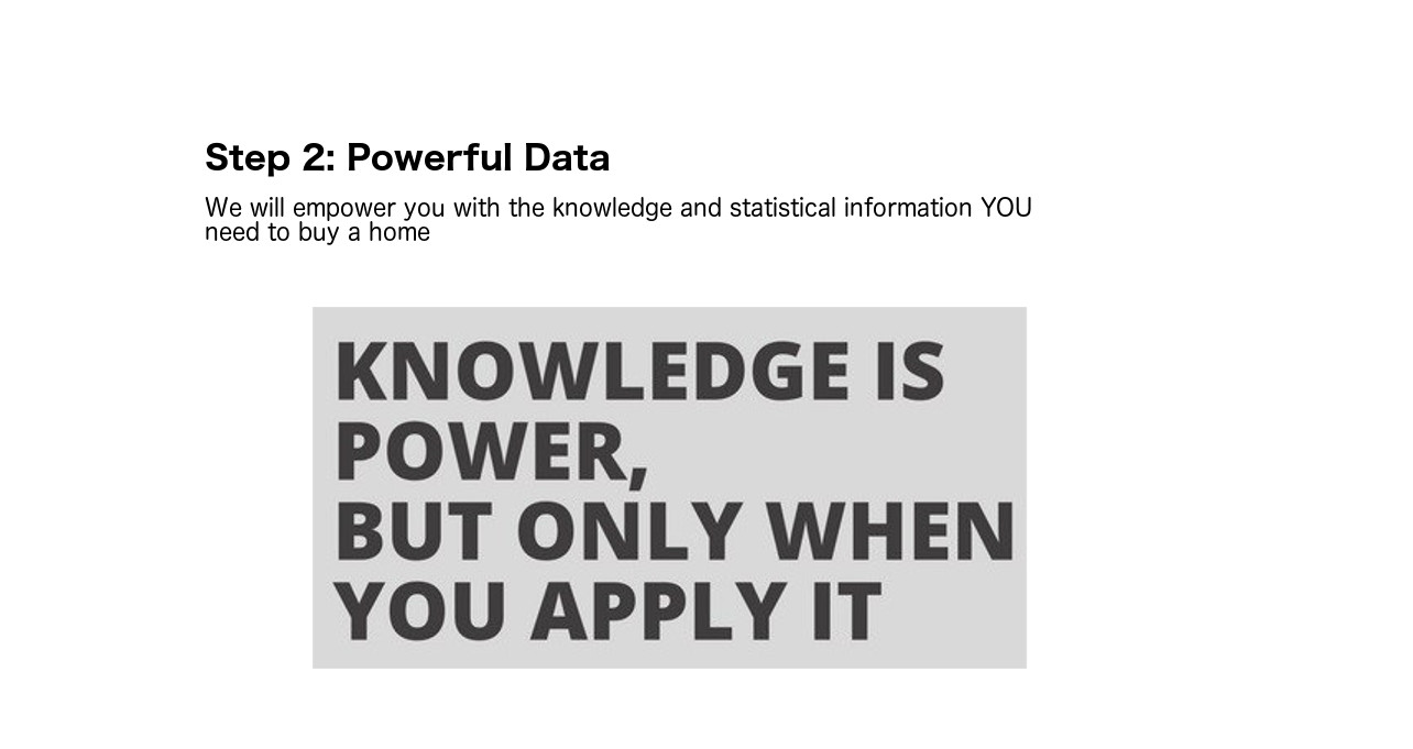 Step 2: Powerful Data