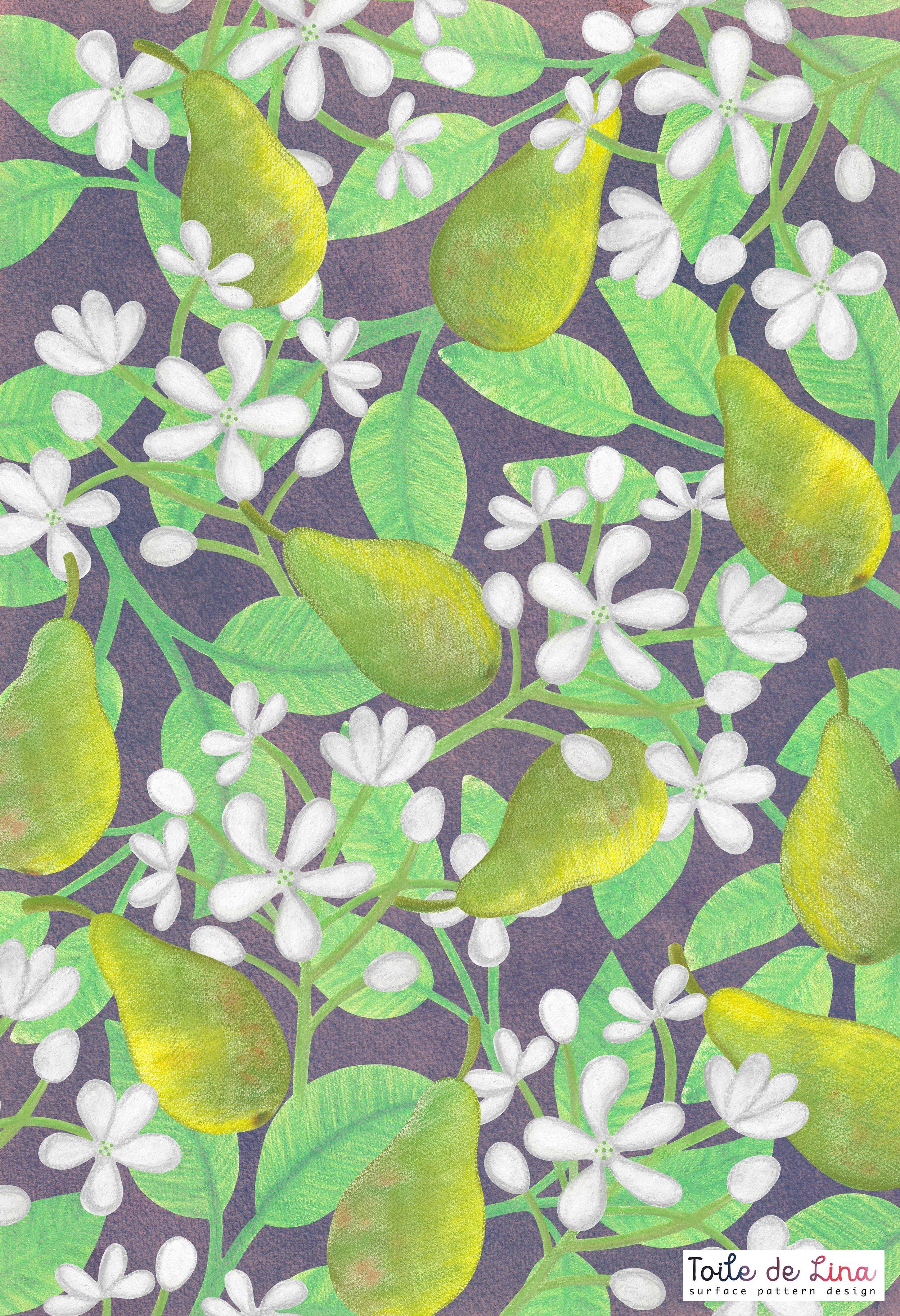 4 Lina Thuresson pear pattern.jpg