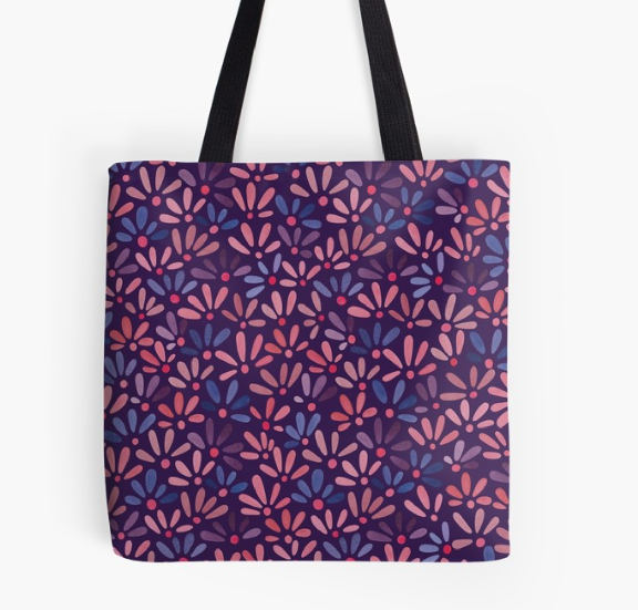 All-over ditsy floral