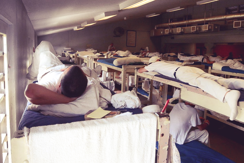 Overcrowding, severe understaffing, uncontrolled violence, and lack of protection plague Alabama's prisons and violate its inmate's Eighth Amendment rights. IMAGE CREDIT: AL.com / Julie Bennett
