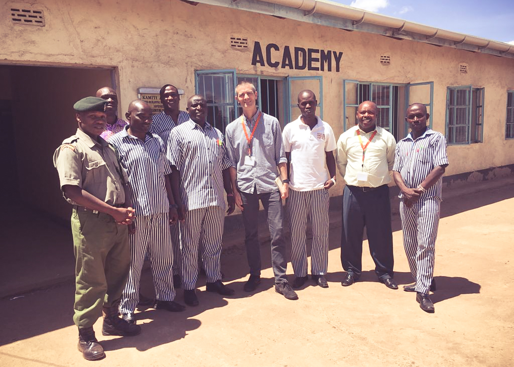 Out in the field with client African Prisons Project. Two weeks of enlightening interviews and observations with prisoners and prison guards, some of whom are training to be paralegals and studying for a law degree from the University of London.