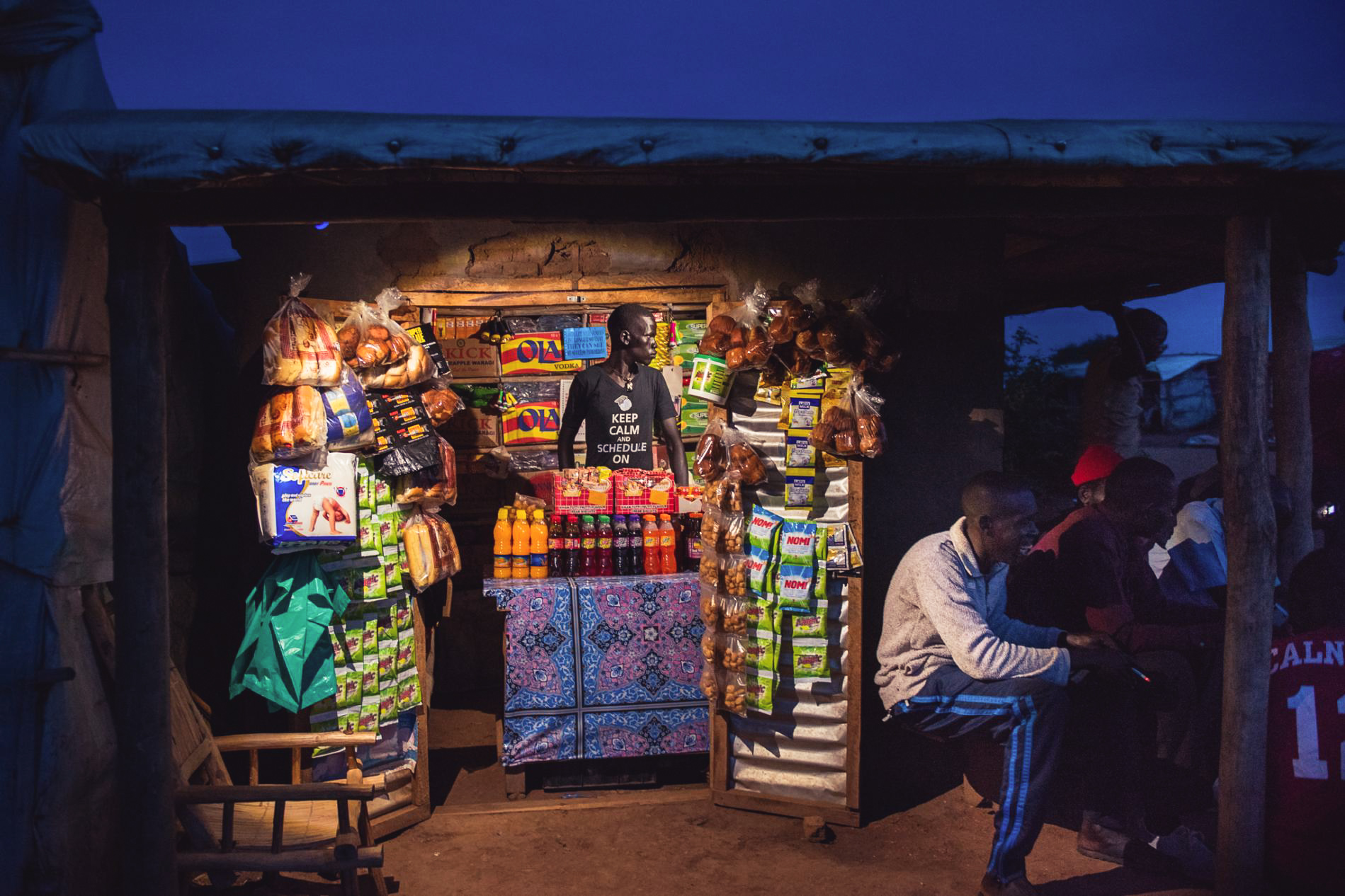 Uganda's Bidibidi refugee settlement is fast growing, full of life, and formalizing into a livable and lasting city for the quarter million people who call it home. IMAGE CREDIT: National Geographic / Nora Lorek