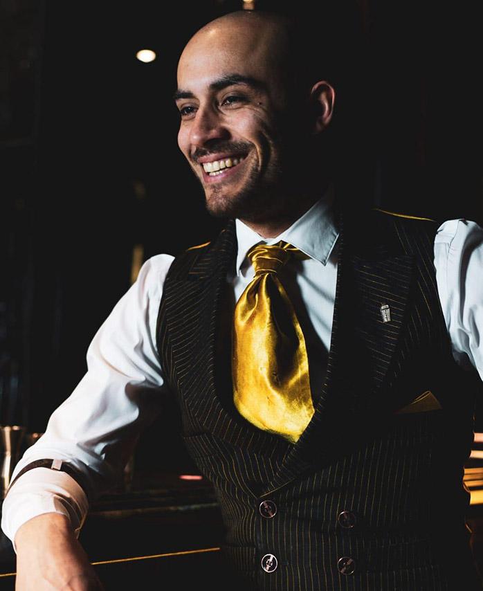 Victor Maggiolo fra American Bar gjester Bygdøy Allé 3.
