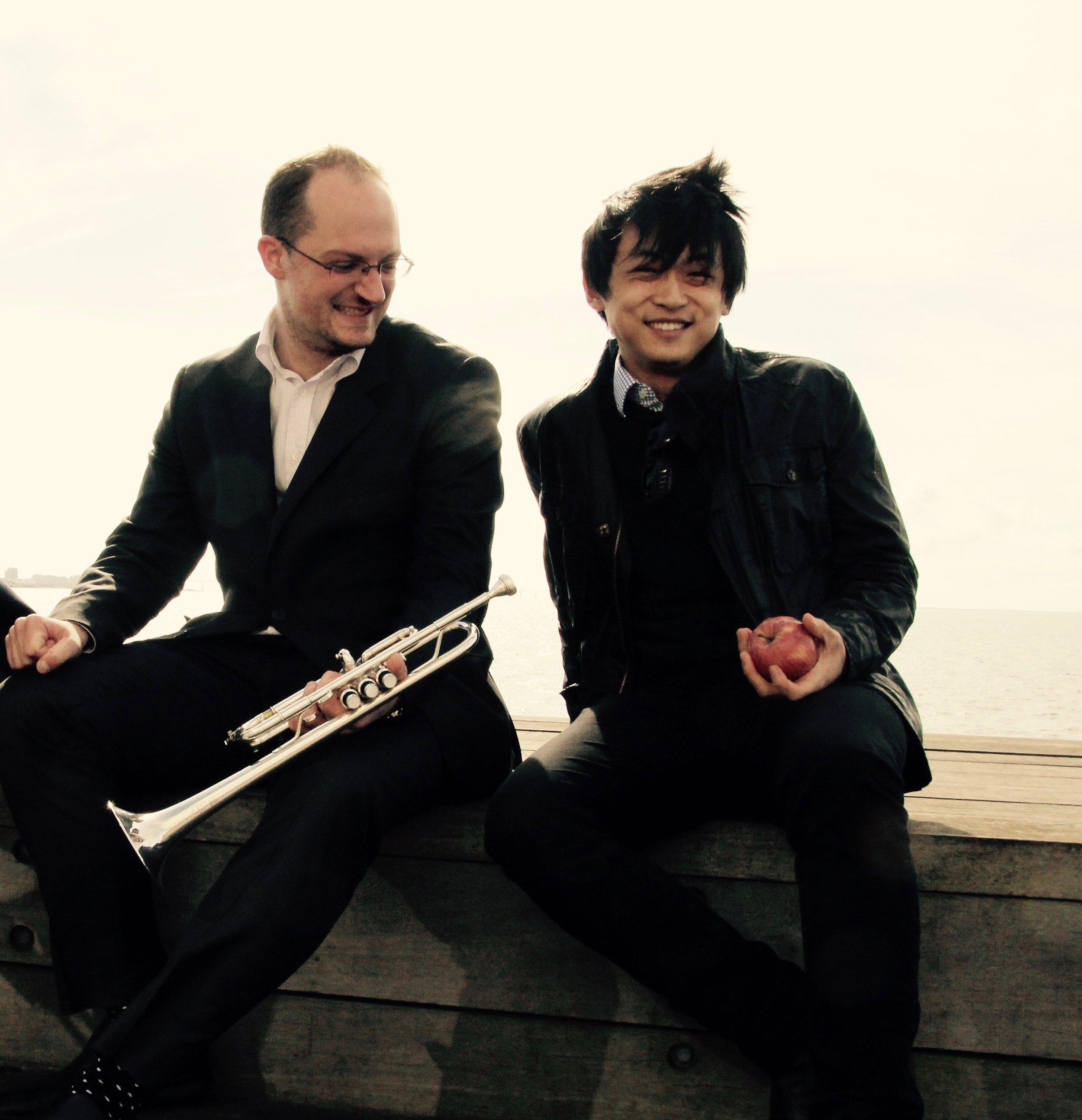 David Huang och Filip Draglund
