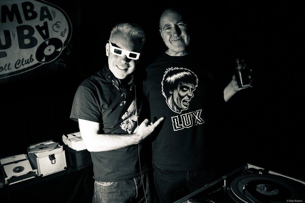 DJ Diddywah och Fritz Buzzsaw, London