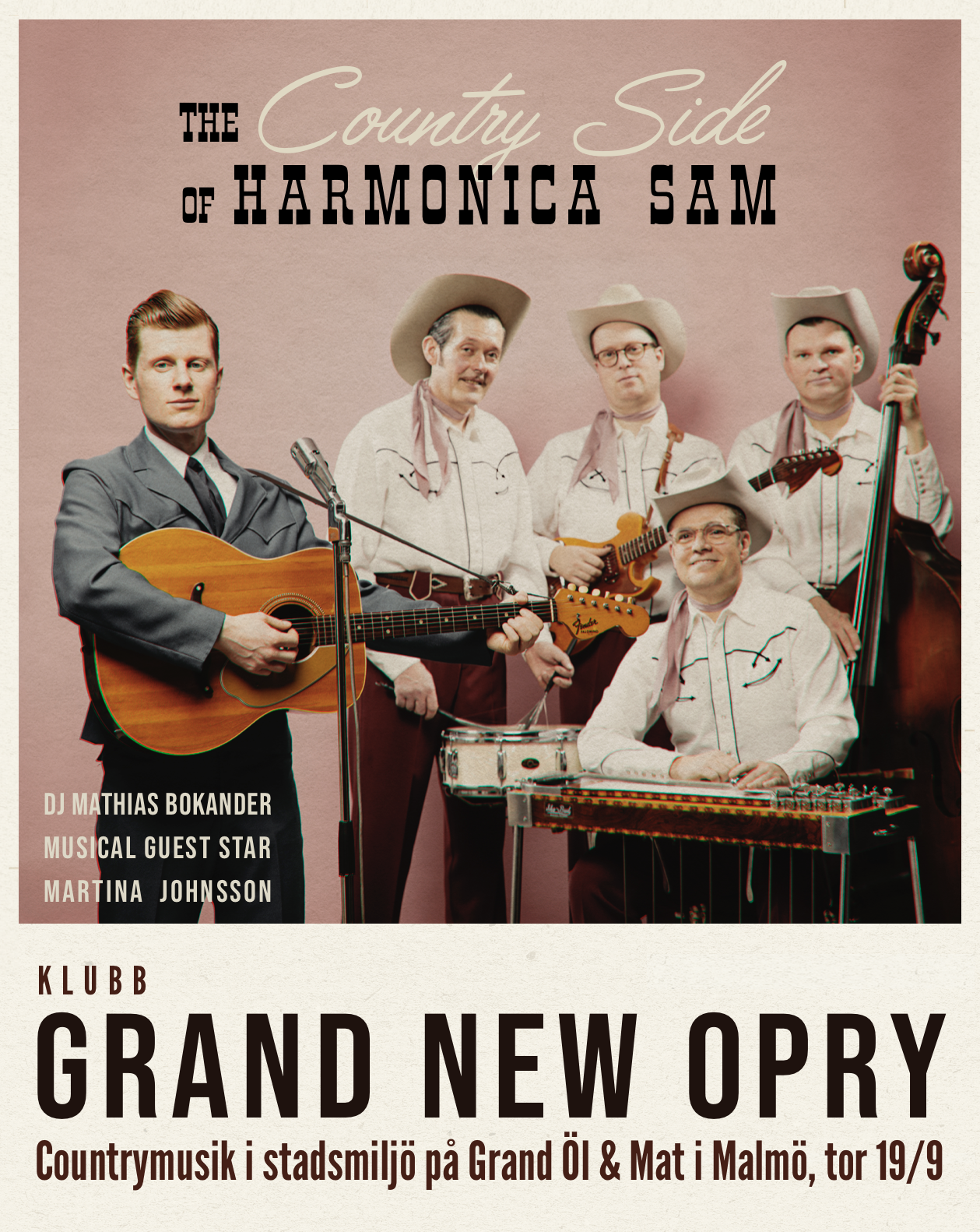grand new opry Gästartist Martina Johnsson Hold Your Horses.png