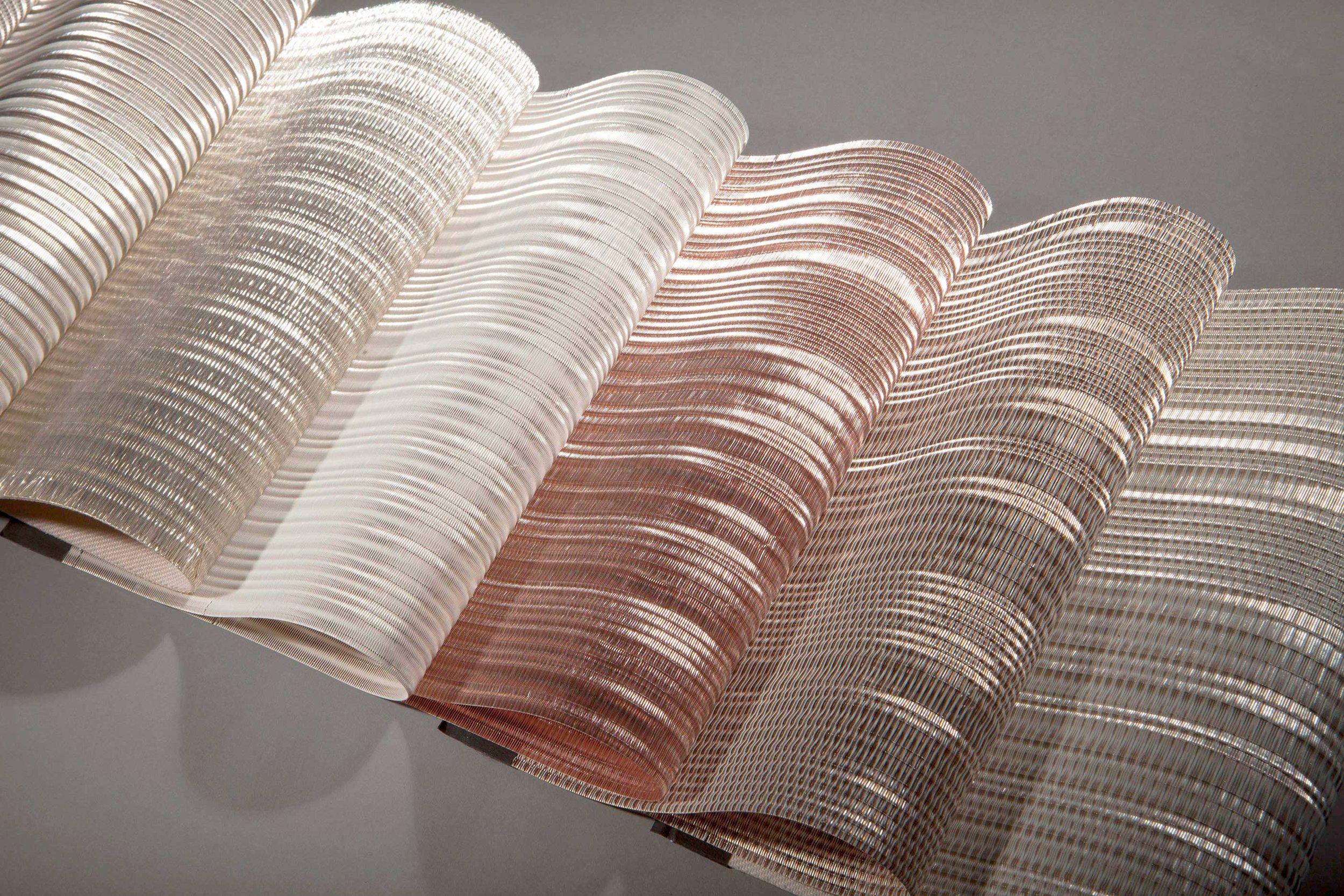 Woven Metal Interiors -