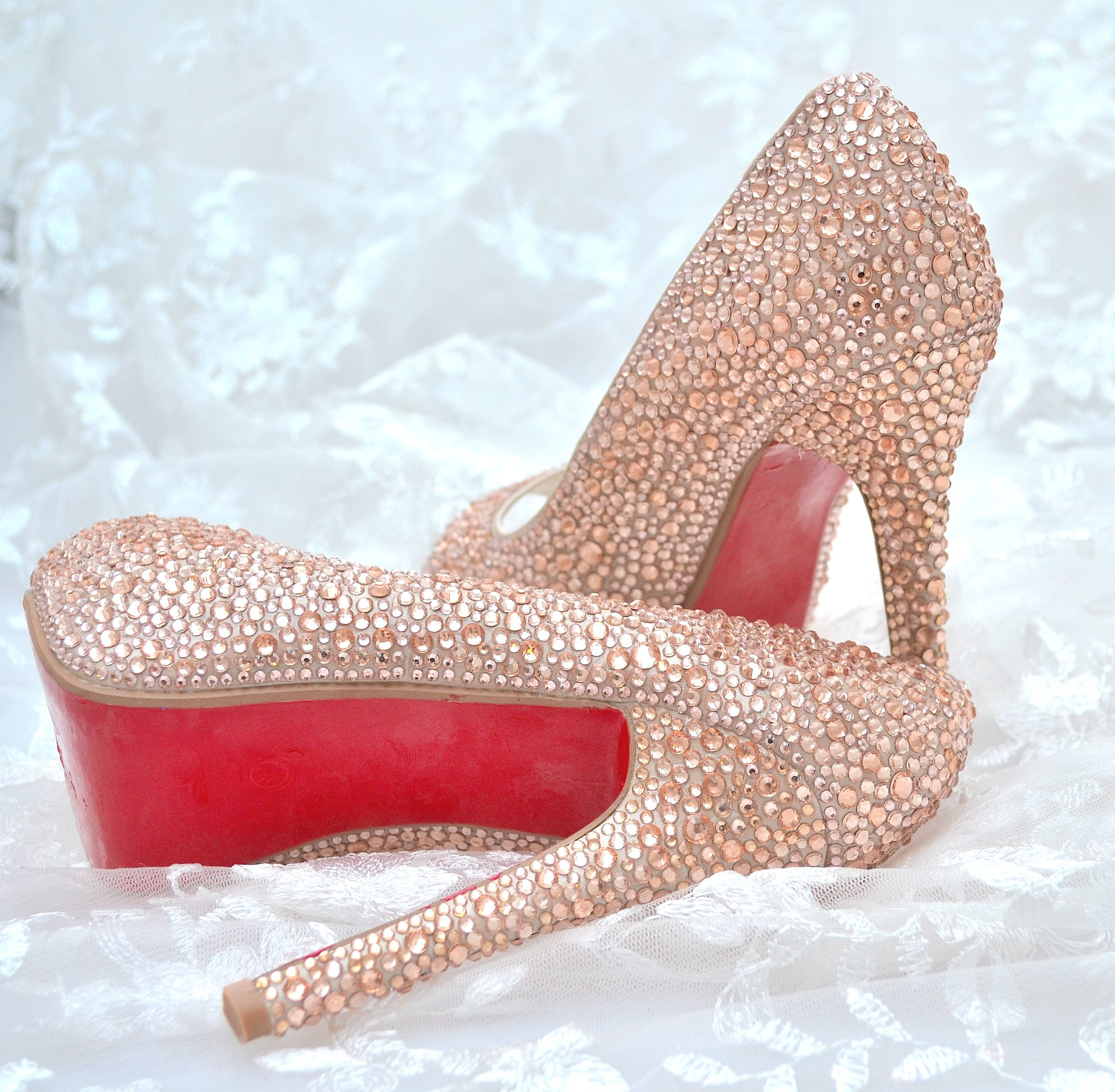 Luxury Crystal Shoes -