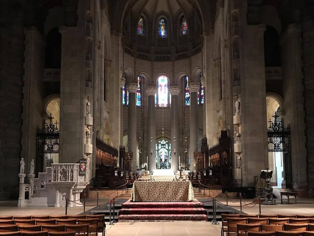 Cathedral of St. John the Divine, New York, where Very Rev.Tracey was ordained.