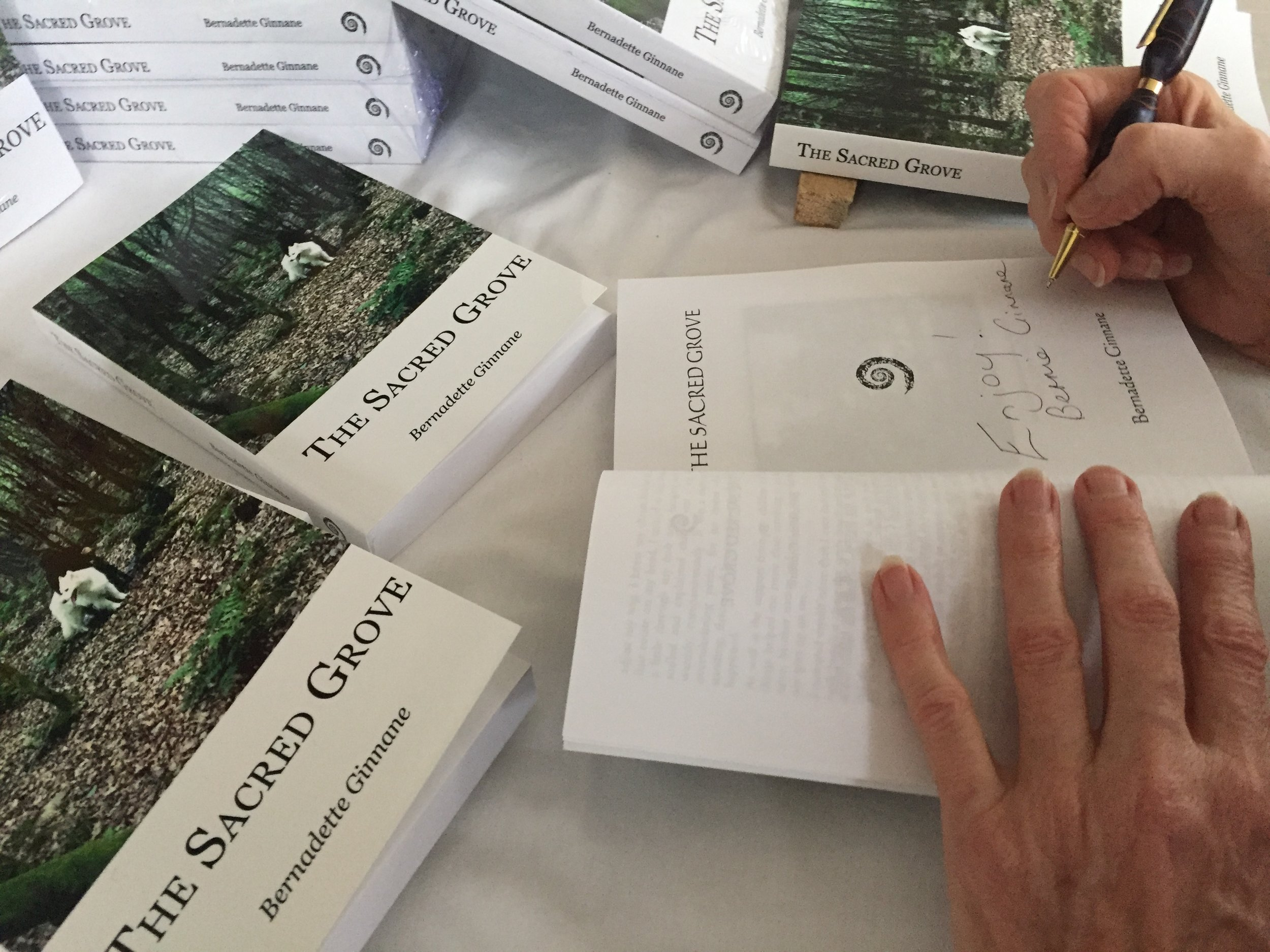 The Sacred Grove - Buy Now via Kindle or receive your very own signed hard copy by clicking here