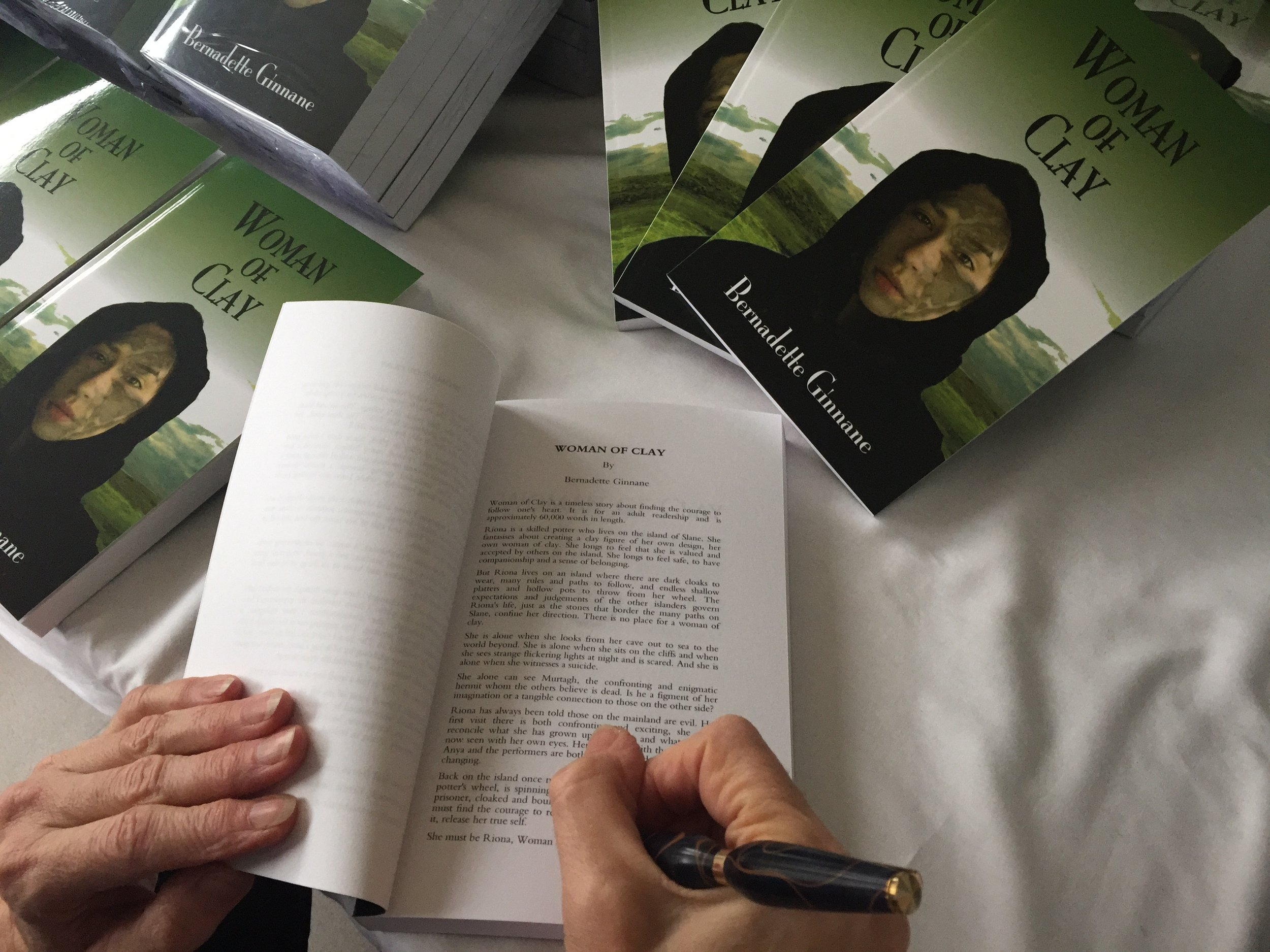 Woman of Clay - Buy now via Kindle or order your very own signed hard copy by clicking here