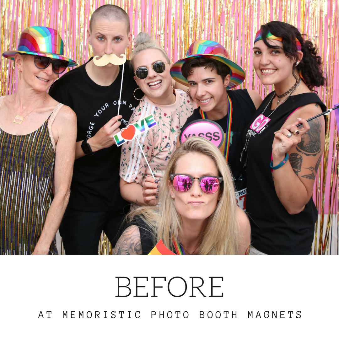 Outdoor Festival at Memoristic Photo Booth Magnets Station.png