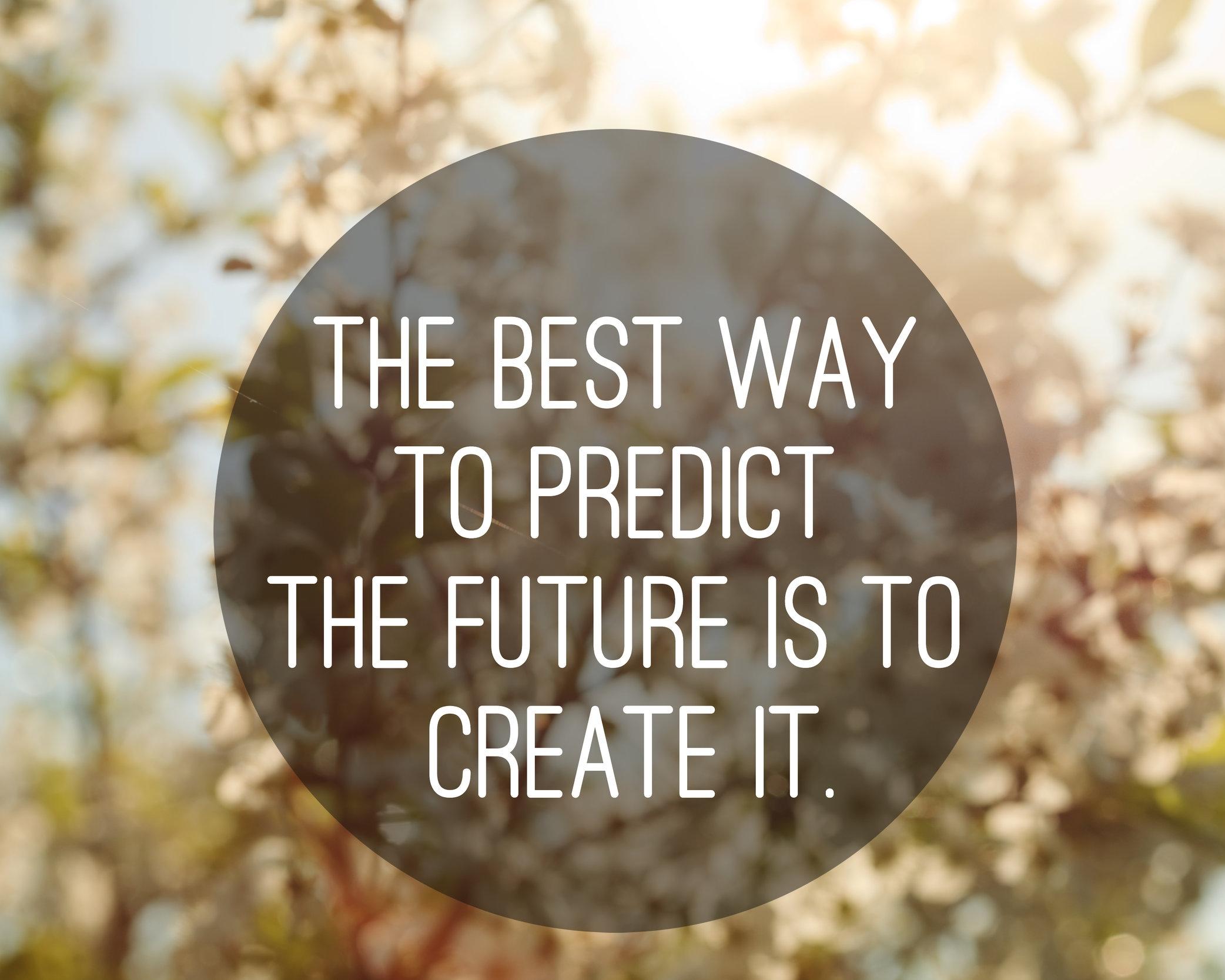 Paras keino ennustaa tulevaisuutesi on suunnitella ja luoda se itse. Laadi siis urasuunnitelmellesi selkeä strategia ja usko itseesi.